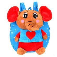 Cute Cartoon Backpack Kindergarten Shoulder Bag Fashion School Bag-Elephant A1