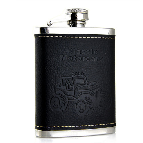 [MOTOCARS] Creative Hiking/Camping Stainless Steel Hip Flask, 4oz