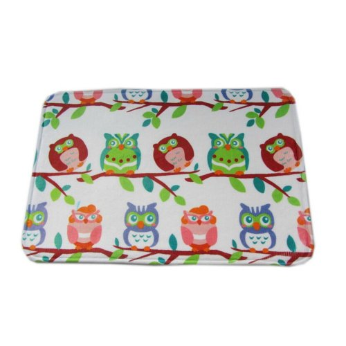 Owls on the Branch Kids Rug Cheap Kids Rug 40*60CM