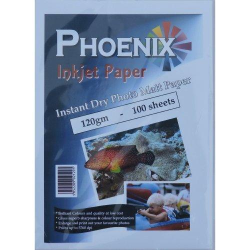 100 Sheets A4 Phoenix 120gsm Inkjet Paper
