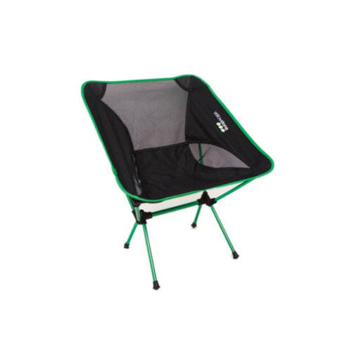 Yellowstone Lightweight Chair Green Frame / Black Top