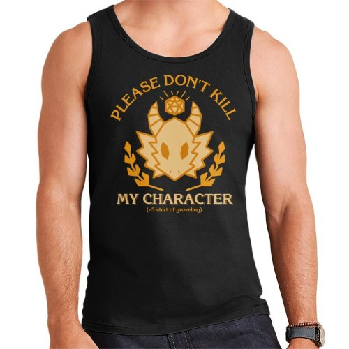 Dungeons And Dragons Grovelling Shirt Men's Vest