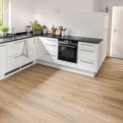 Egger Laminate Flooring Planks 75.62m² 8mm Toscolano Oak Nature Board Carpet
