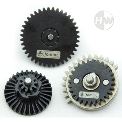 Airsoft High Torque 32:1 Gear Set M4 Ak47 V2 V3 High Density Steel Gearbox Cogs