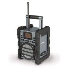 Labgear PI00506 DAB Radio Worksite Digital Radio Portable Weatherproof
