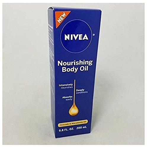 Nivea Nourishing Body Oil 68 fl oz (2 Pack)
