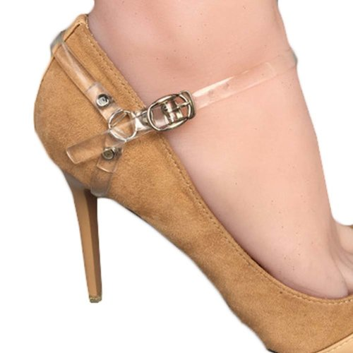 1 Pair Belt Leather Adjustable High Heels Chains Strap Shoelaces Ankle | eBay