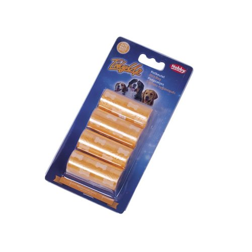 Nobby 67359 Tidyup Pet Poo Bags with Paw Print