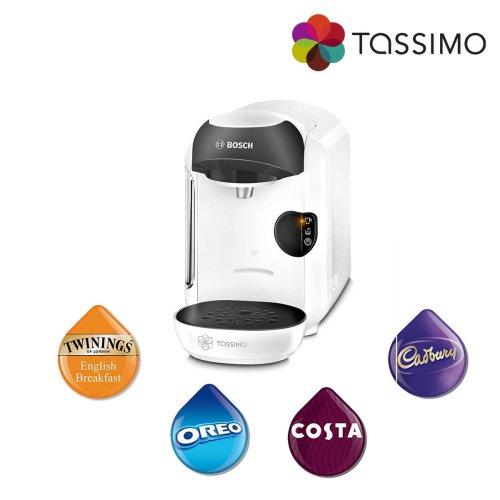 Tassimo TAS1254GB Vivy Costa Coffee Hot Drinks Machine 1300W 0.7L Bosch