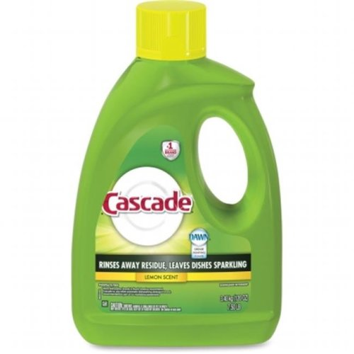 Procter & Gamble PGC28193 120 oz Cascade Gel Dishwasher Detergent Lemon Scent