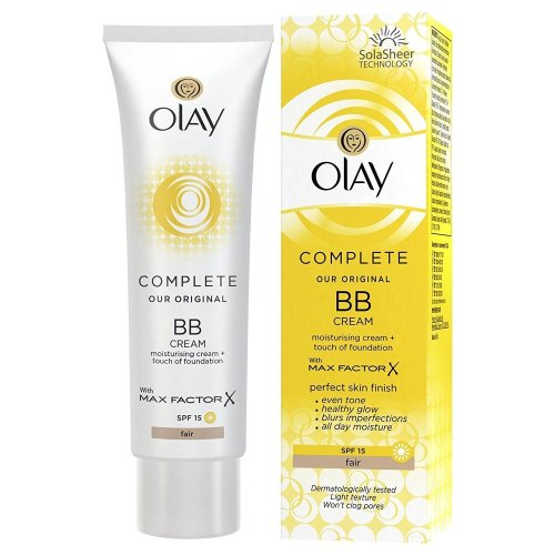 Olay BB Cream Fair Moisturiser SPF15 Max Factor Essentials Complete Care 50ml