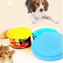 Pet Reusable Food Storage Can Cover Bottle Tin Lid Capsule Container Cap Dog Cat