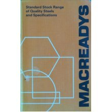 Standard Stock Range of Quality Steels and Specifications