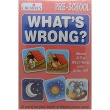 Cre0693 - Creative Pre-school - What's Wrong