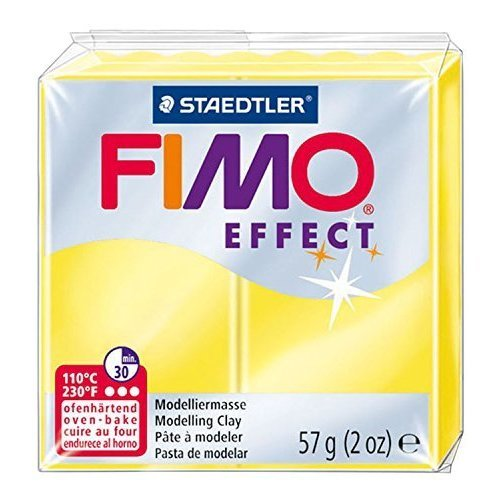 Staedtler - Fimo effect 57g, Translucent Yellow