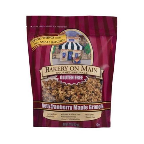 Bakery On Main 769844 Nutty Cranberry Maple Granola Gluten Free