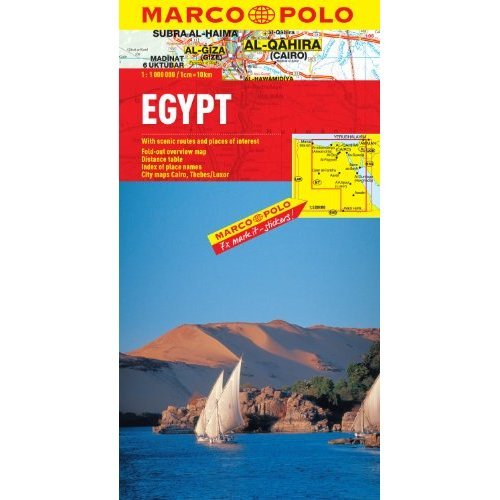 Egypt Marco Polo Map (Marco Polo Maps)