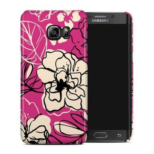 DecalGirl SGS6EPCC-BLKLIL Samsung Galaxy S6 Edge Plus Clip Case - Black Lily