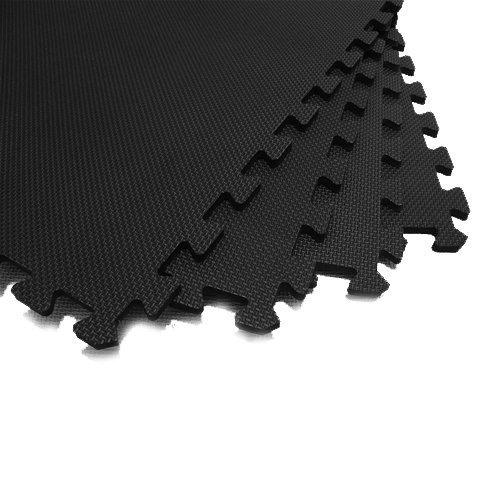 JSG Accessories® Interlocking Protective Flooring Mats 1-48 tiles (4-192 sqft)
