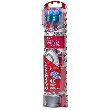 Colgate 360 Optic White Platinum Powered Toothbrush and Refill Head