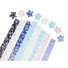 Origami Stars Papers 360 Sheets Colorful DIY Paper for Lucky Stars