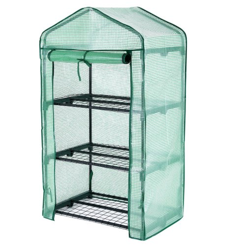 Songmics 3 Tier Mini Greenhouse Grow House 69 x 49 x 125 cm GWP03L