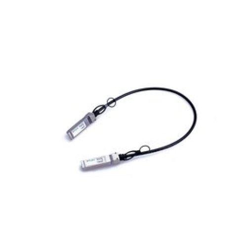 MicroOptics MO-S+DA0001 1m SFP+ SFP+ Black InfiniBand cable