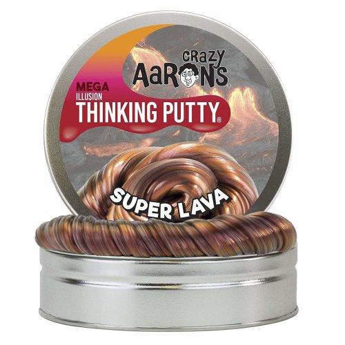 Crazy Aaron's Thinking Putty Super Lava MEGA Tin