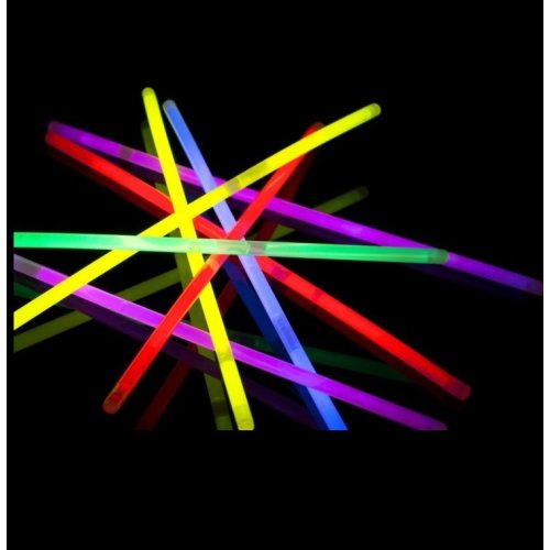 100x Glow Sticks UV Light Sticks Glow In The Dark Party Premium Bracelets