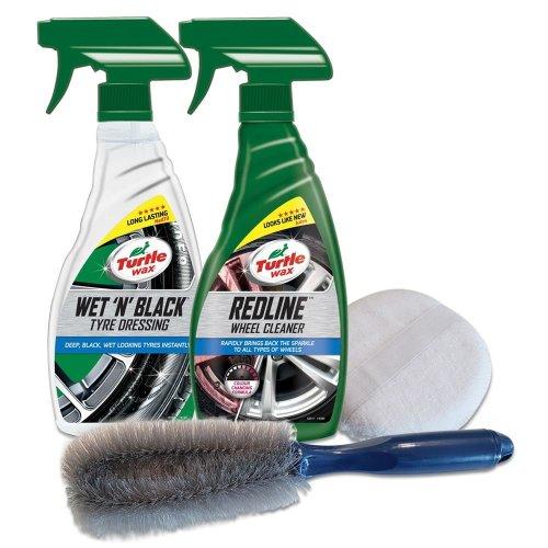 Turtle Wax Wonderful Car Wheel Spray & Brush Cleaning Kit