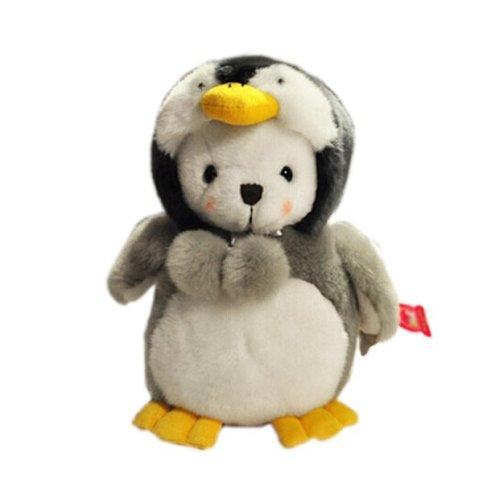 "Plush Doll for Kids Lovely Creative Plush Toy Ideas Stuffed Penguin(H) 9.8"""