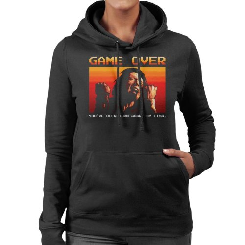 Game Over Tommy Wiseau The Room Women's Hooded Sweatshirt