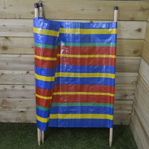 4 Pole Windbreak Great For The Beach, Camping, Picnics or 360cm / 12Ft