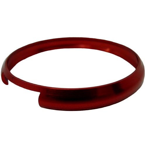 Fits BMW Mini Cooper S One Remote key FOB Red replacement aluminium trim ring