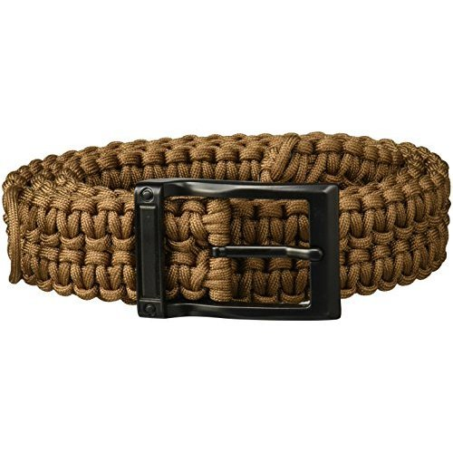 TIMBERLINE Paracord Survival Belt Coyote Tan X Large