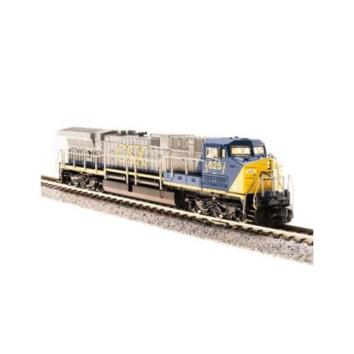 Broadway Limited Imports BLI3744 N AC6000CW with DCC & Paragon 3, CSX, Model Train - No.634