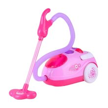 Children Simulation Educational Toy Lovely Pink Vacuum Cleaner Toy 24*9 CM