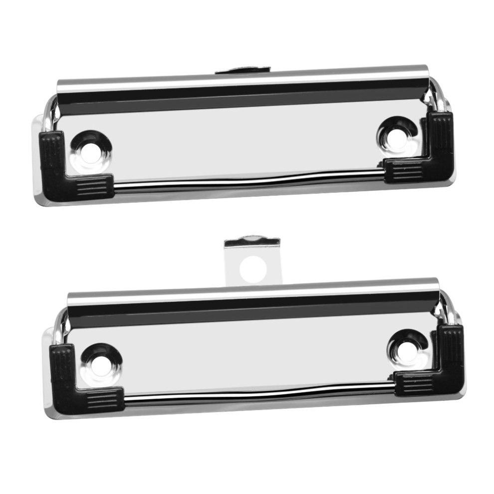 Meetory 10 Pack Mountable Clipboard Clips Spring Loaded