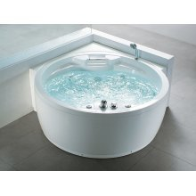 Round Whirlpool - Computer-Controlled, Heating, Colour Light - MILANO