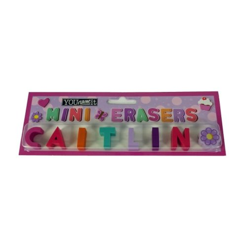 Childrens Mini Erasers - Caitlin