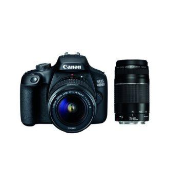 CANON EOS 4000D KIT EF-S 18-55MM F3.5-5.6 III + EF 75-300MM F4-5.6 III
