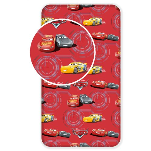 Disney Cars 3 Fitted Sheet