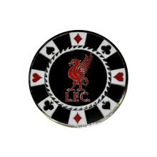Liverpool Casino Golf Ball Marker - Fc Official Licensed Product Stocking Filler - Liverpool Fc Casino Golf Ball Marker Official Licensed Product