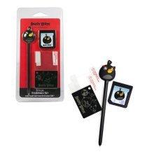 ANGRY BIRDS Stylus Essentials Set (3PC) for Nintendo 3DS, Black Bird (35195)