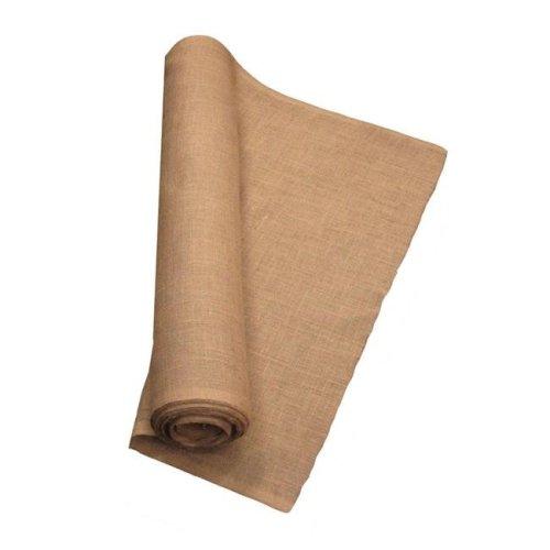 LA Linen 40IN-Burlap-10YardRoll 10 Yards Burlap Fabric, Natural - 40 in.
