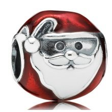 Pandora Jolly Father Christmas Charm - 791405ENMX