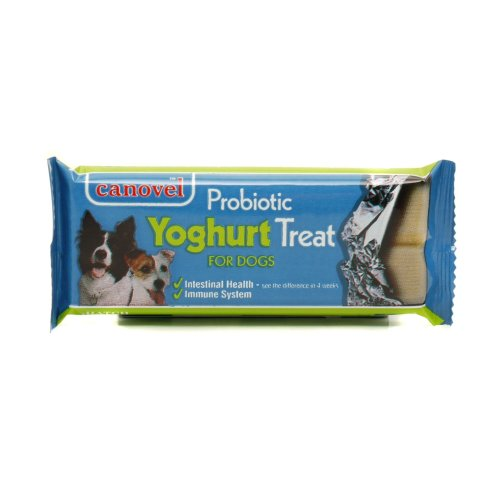 Canovel Dog Probiotic Yoghurt Treat Bar 50g (Pack of 18)