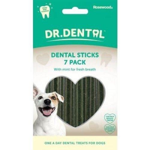 Rosewood Dr Dental Minty Dental Sticks - 7 Pack 182g
