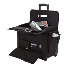 Travelwell Dual Handle Rolling Heavy Duty Convention Sample Case