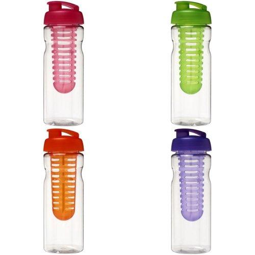 H2O Base 650ml Flip Lid Sport Bottle And Infuser
